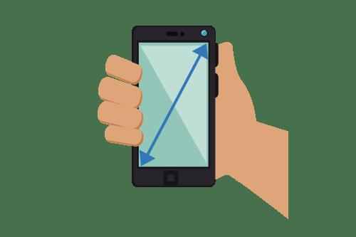 Dimensiune si Rezolutie Telefon Mobil